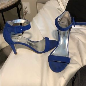 Style&Co blue suede heels